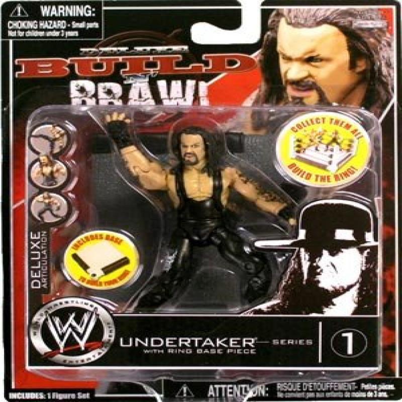 Jakks WWE 3.75 Build N' Brawlers Series 1: Undertaker wit...