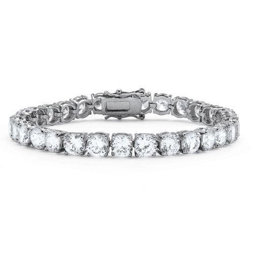 Palm Beach Jewelry Cubic Zirconia Tennis Bracelet