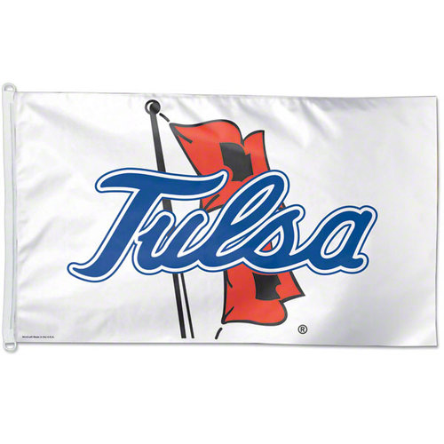 University of Tulsa 3 x 5 Sports House Flag
