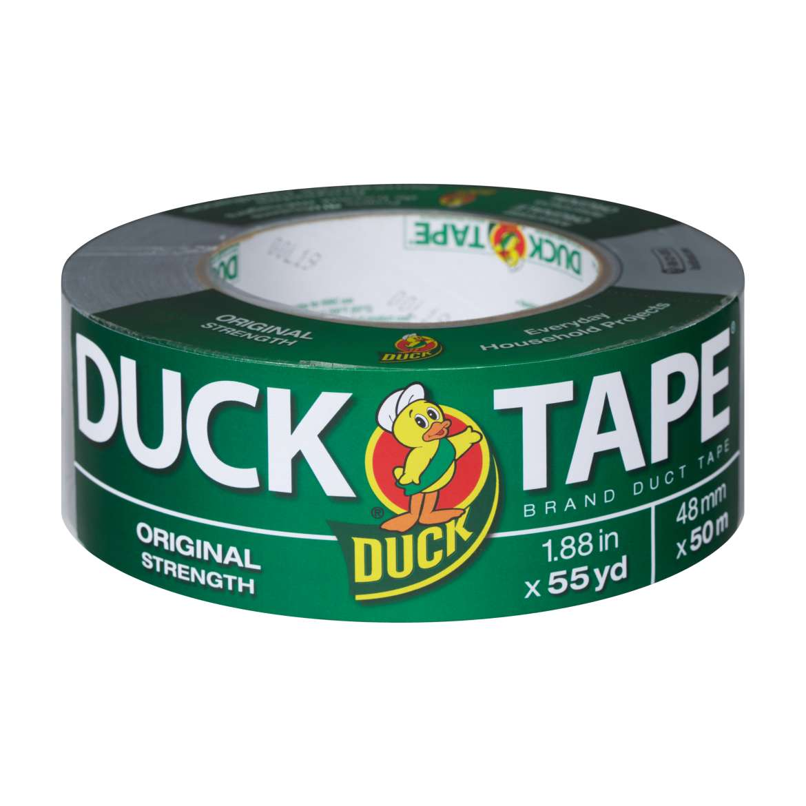 Duck Brand Original Strength Duct Tape, 1.88 in. x 55 yds., Silver