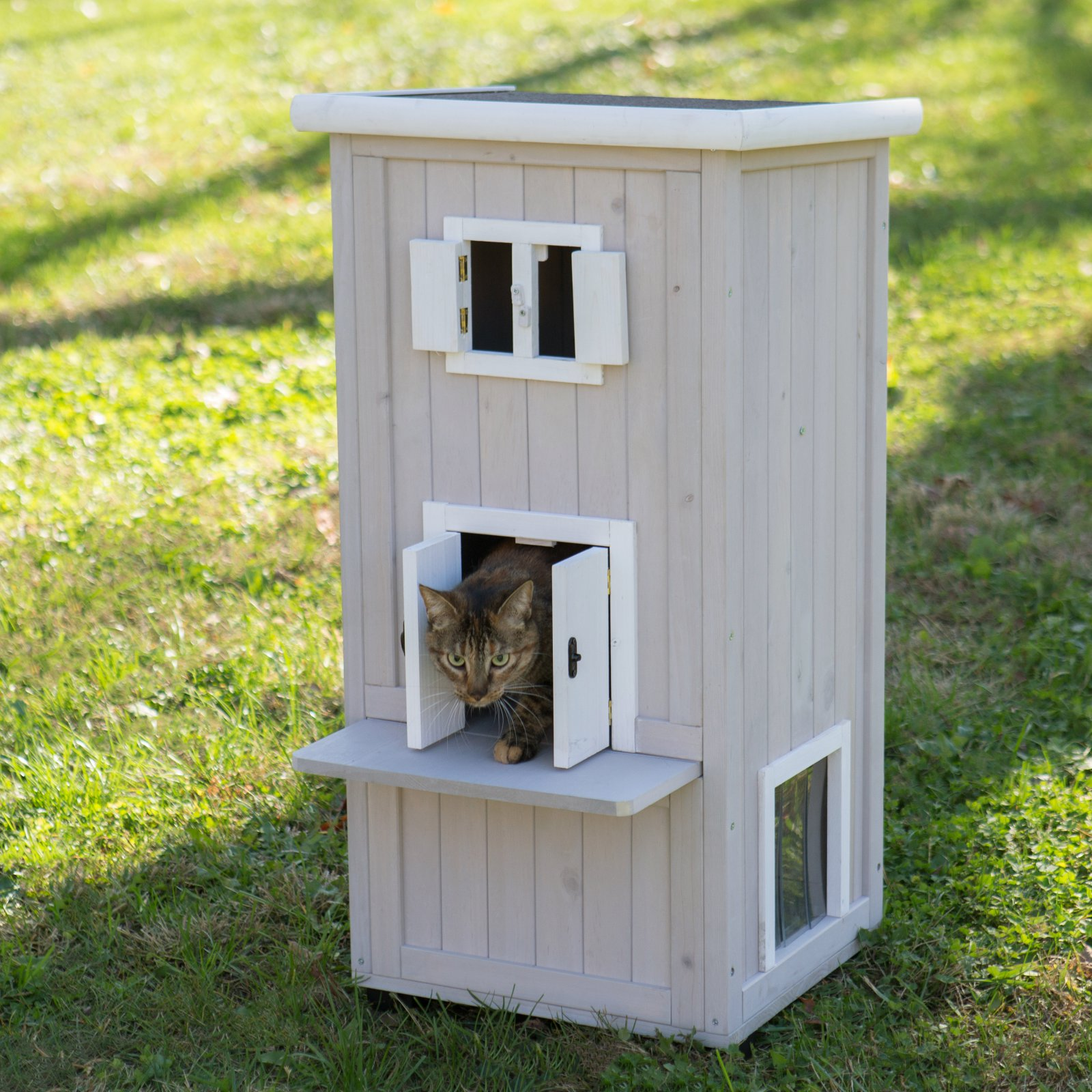 Boomer & George Nantucket Outdoor Cat House