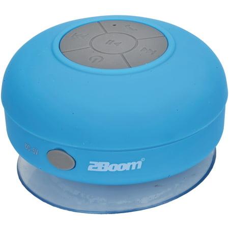 2BOOM BT290B Aqua Jam Bluetooth Shower Speaker (Blue)