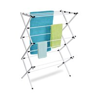 Homz Foldable, Steel Frame, Rustproof, Drying Rack, Set of 1