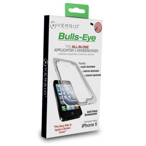 Versio Mobile Crystal Clear Bulls-Eye Crystal Clear Screen Protector For Apple iPhone 5 5S