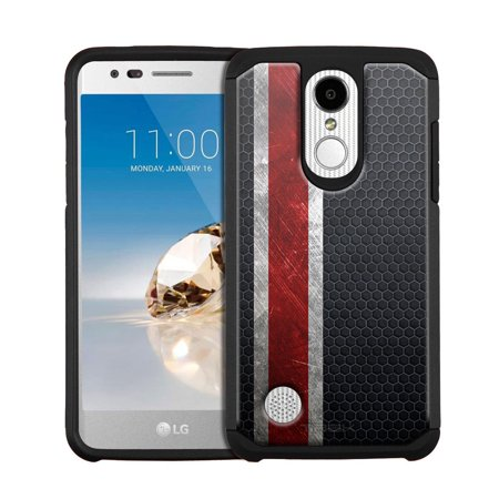 LG Fortune Hybrid Slim Case - Armor on Black