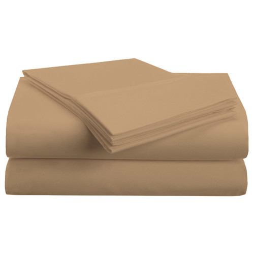 1500 Series Brushed Microfiber Solid Sheet Set by Superior
