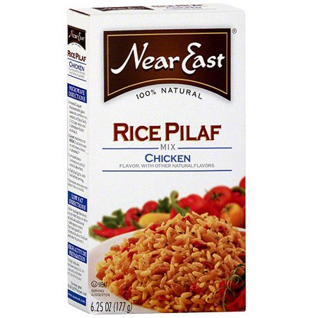 Near East Chicken Rice Pilaf Mix, 6.25 oz (Pack of 12)