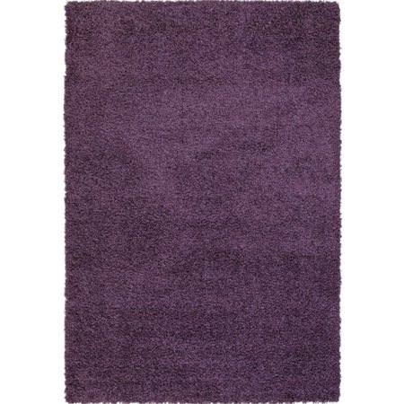 Abacasa Domino Lilac Area Rug - Purple Domino