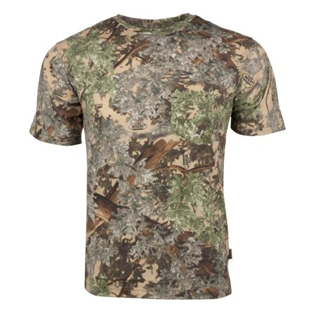 Kings Camo Classic Cotton Short Sleeve Shirt Desert