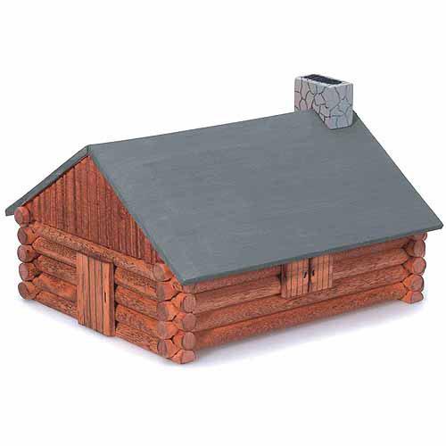 Darice Wood Model Kit, Log Cabin