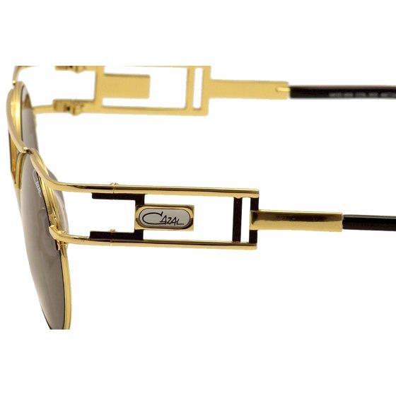 4b65ded0c42 Cazal - Cazal Men s Legends 958 302 SG Gold Black Sunglasses 46mm -  Walmart.com