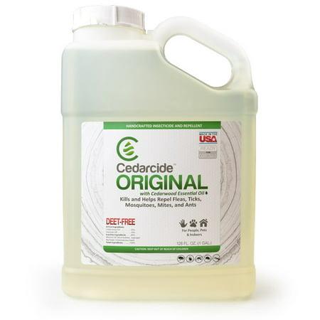 Cedarcide Original Biting Insect Spray - Gallon