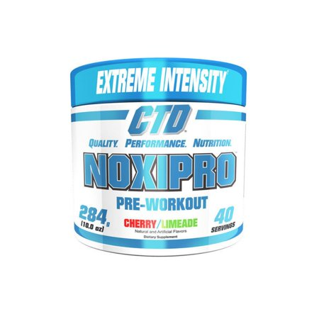 Ctd Sports Noxipro Extreme Energy And Mental Focus Pre Workout 40 Servings Cherry Limeade Flavor