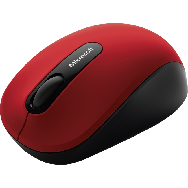 Microsoft Mobile Mouse 3600 - mouse - 4.0 - dark red