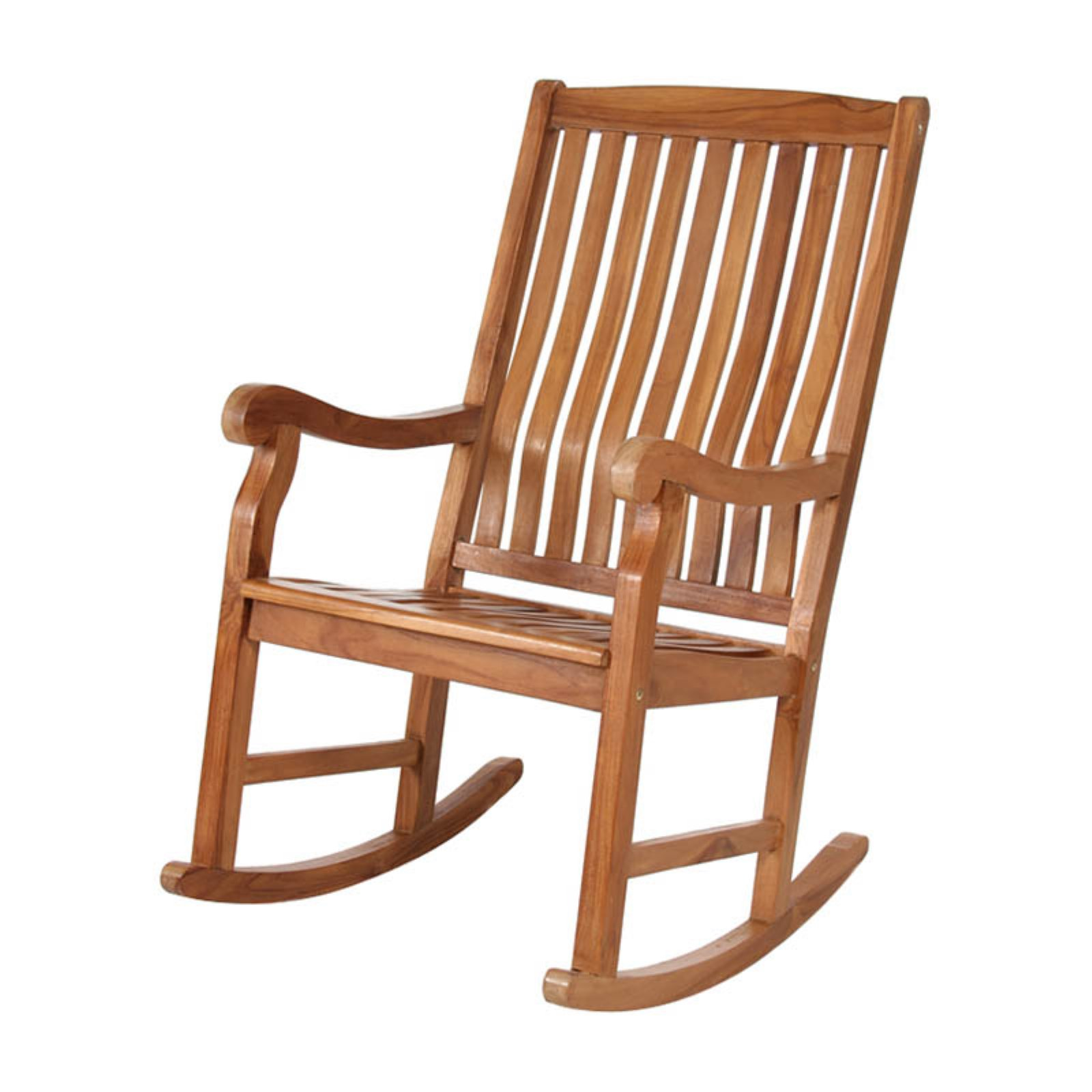 All Things Cedar Teak Rocking Chair