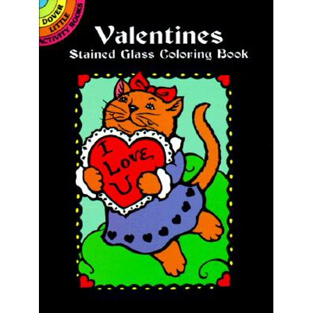 Valentines Stained Glass Coloring Book](Valentines Coloring)