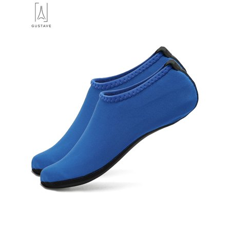 GustaveDesign Skin Water Barefoot Shoes For Men & Women Aqua Beach Socks Yoga Exercise Pool Swim Slip On Surf Shoes