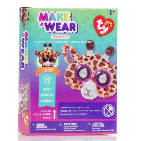 Ty Beanie Boo Fur Glasses Kit - Giraffe