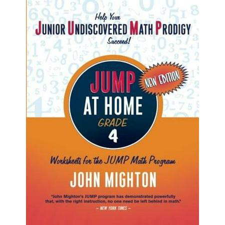 JUMP at Home, Grade 4 : Worksheets for the JUMP Math Program - Halloween Math Worksheets