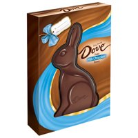 Dove, Easter Milk Chocolate Candy Solid Easter Bunny, 12 Oz