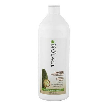 - Matrix Biolage 3 Butter Control System Shampoo-33oz