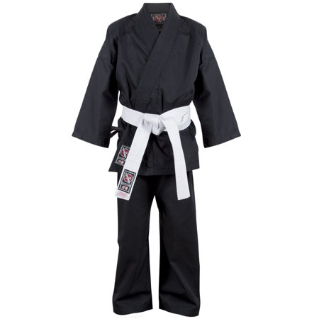 Hayabusa Musha Youth Karate Gi - Black