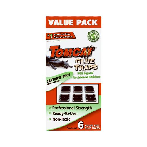 SCOTTS COMPANY-TOMCAT Mouse Glue Traps, 6-Pk.