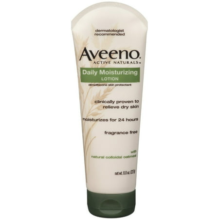 AVEENO Active Naturals Daily Moisturizing Lotion 8 oz (Pack of 3)