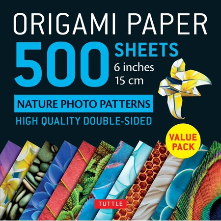 Origami Paper 500 Sheets Nature Photo Patterns 6