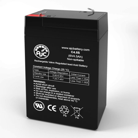 Haze HZS06-4.5 6V 4.5Ah Sealed Lead Acid Battery - This is an AJC Brand Replacement - image 1 de 6