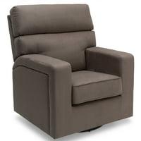 Product Image Delta Children Chase Nursery Glider Swivel Rocker Chair Graphite