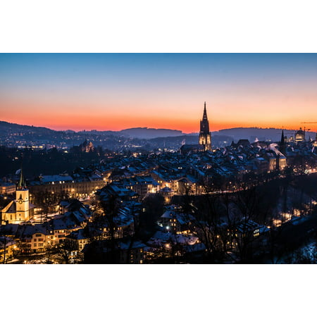 LAMINATED POSTER Building Bern Switzerland Downtown Rose Garden Poster Print 24 x 36](Downtown At The Gardens)