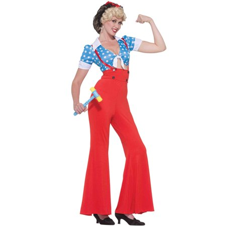 Rosie the Riveter Adult Costume](Rosie The Riviter Costume)