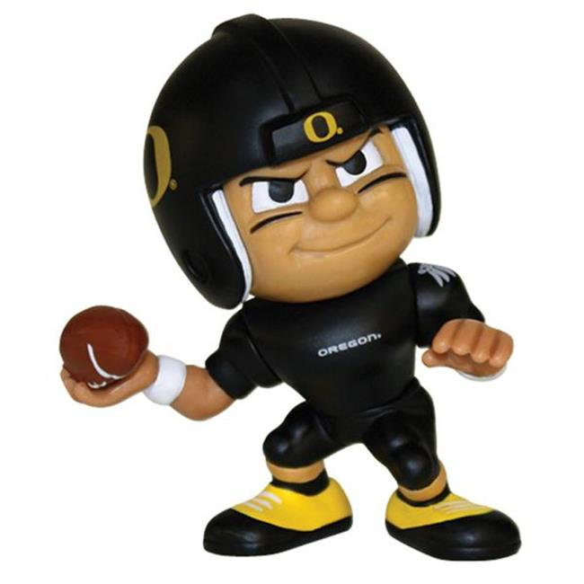 Party Animal PAR-LQ3UO Oregon Ducks NCAA Lil Teammates Vinyl Quarterback Sports Figure - 2 3-4 Tall - Series 3