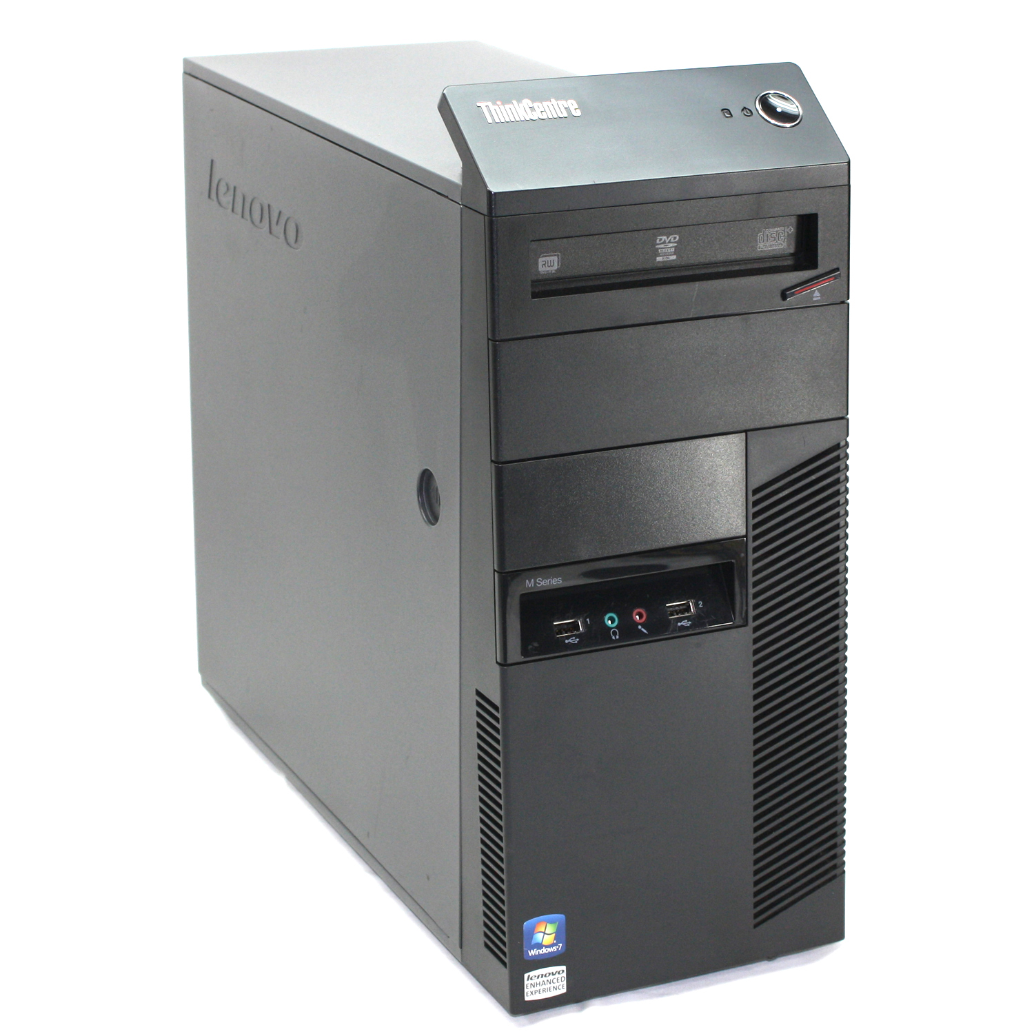 Lenovo ThinkCentre M90 Desktop Tower - Intel Core i7 up to 3.6GHz, 8GB RAM, 500GB HDD, Windows 10 Pro (Refurbished)