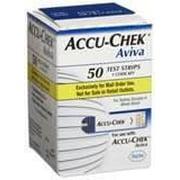 Accu-Chek Aviva Plus Test Strips Box of 50