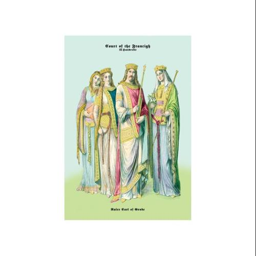 Ruler Carl of Grode And The Court of The Francigh Print (Unframed Paper Print 20x30)