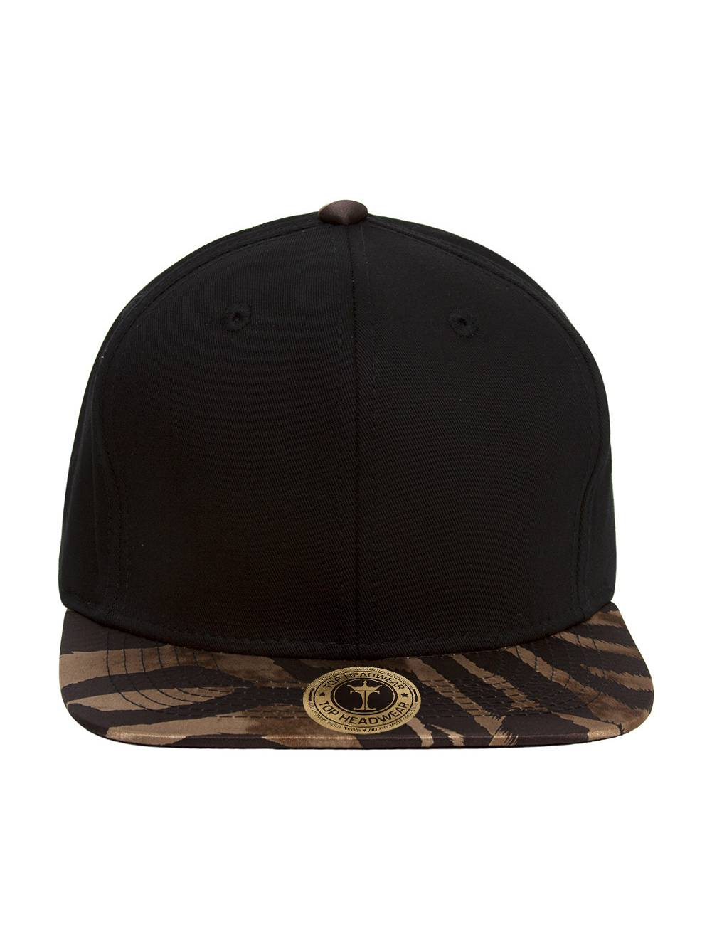 TopHeadwear Tiger Stripes Two-Tone Adjustable Snapback