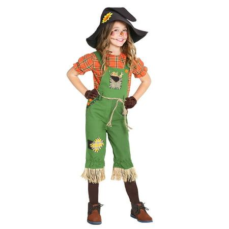 Scarecrow Girls Costume - image 2 of 3