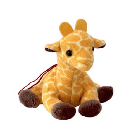 TY Jingle Beanie Baby - TWIGS the Giraffe (3.5 inch)