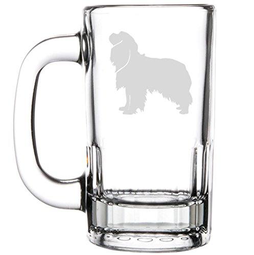 12oz Beer Mug Stein Glass Cavalier King Charles Spaniel by