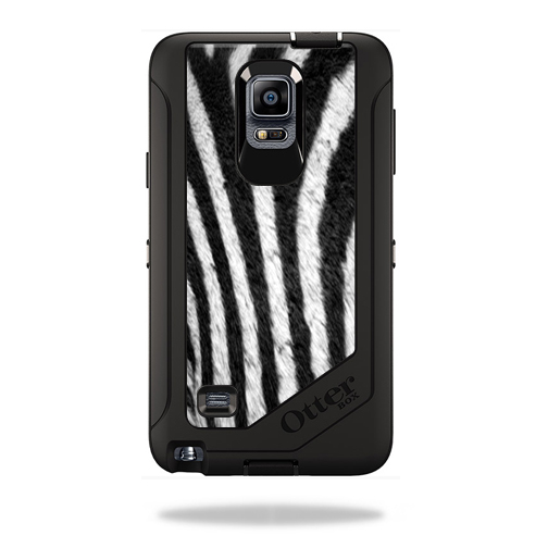 Mightyskins Protective Vinyl Skin Decal Cover for OtterBox Defender Galaxy Note 4 Case cover wrap sticker skins Zebra