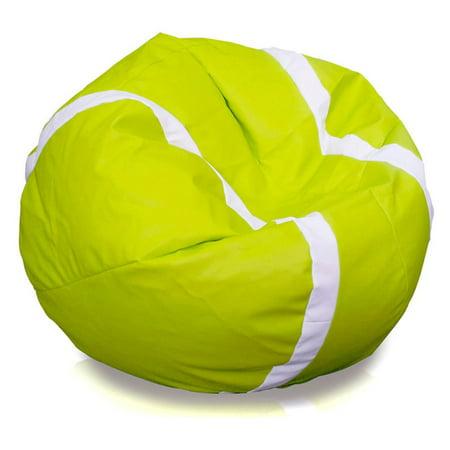 (Turbo Beanbags Tennis Ball Large Bean Bag Chair)
