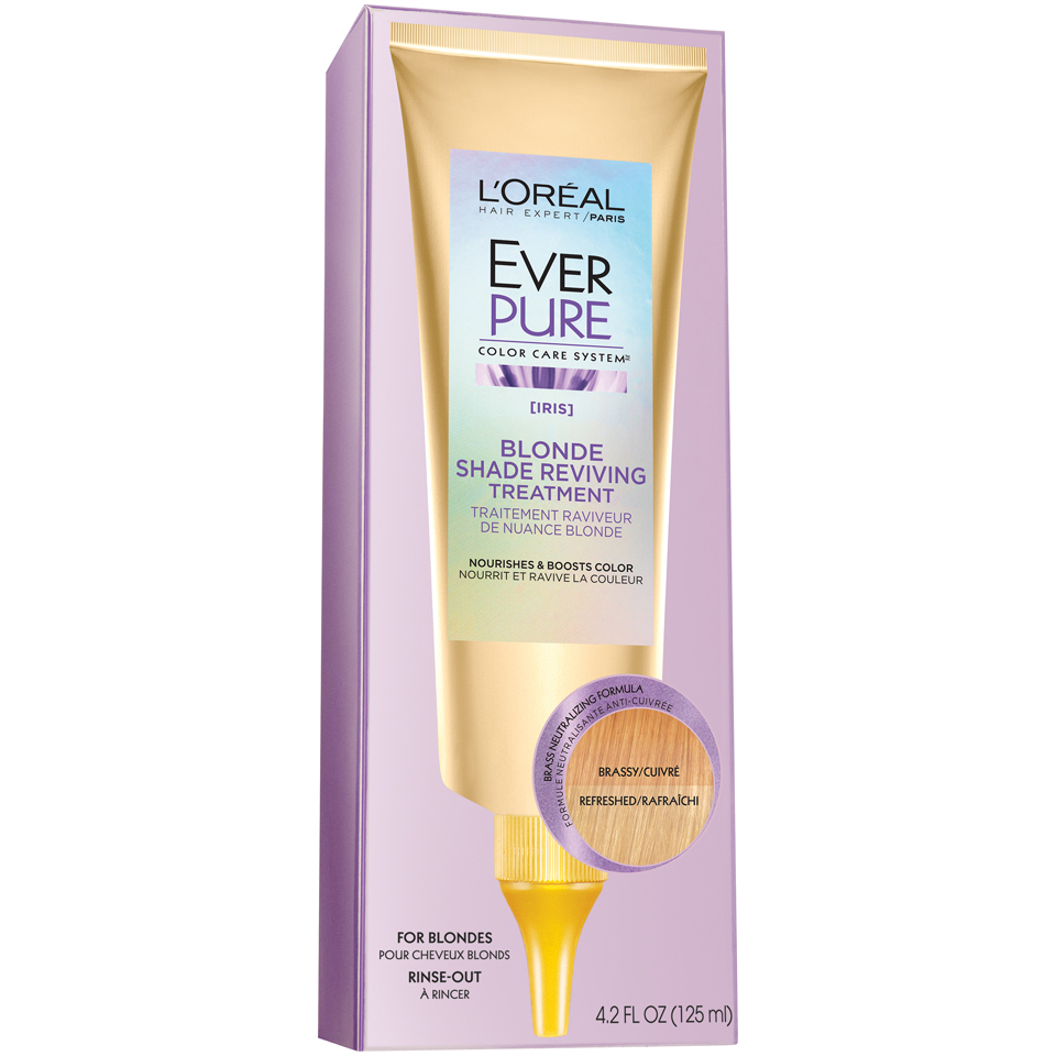 L'Oreal Paris EverPure Blonde Shade Reviving Treatment, 4.2 Fl Oz
