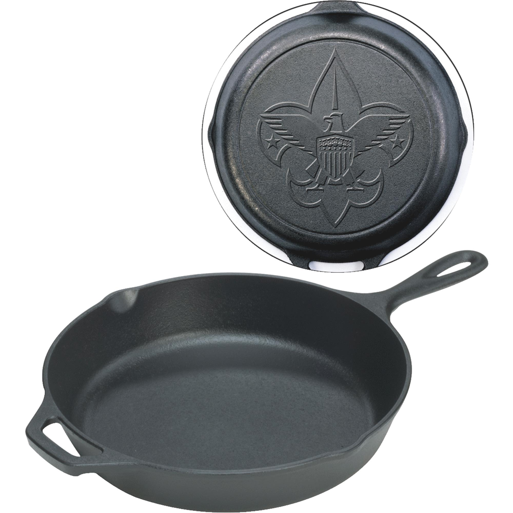 "Lodge Logic 12"" Boy Scouts of America Skillet, L10SK3BS by Lodge Mfg Co"