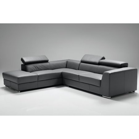 Orren Ellis Cesca Leather Sectional