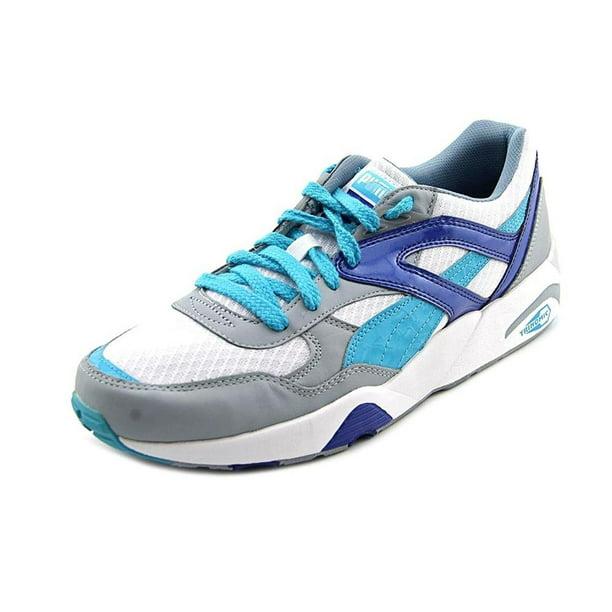 Puma Trinomic R698 Wild Mens White/Blue Sneakers