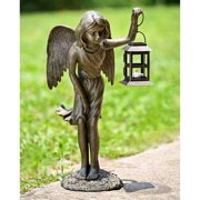 San Pacific International Angel Girl Garden Lantern