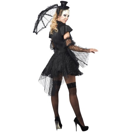 victorian doll adult halloween costume walmartcom - Halloween Costumes Victorian