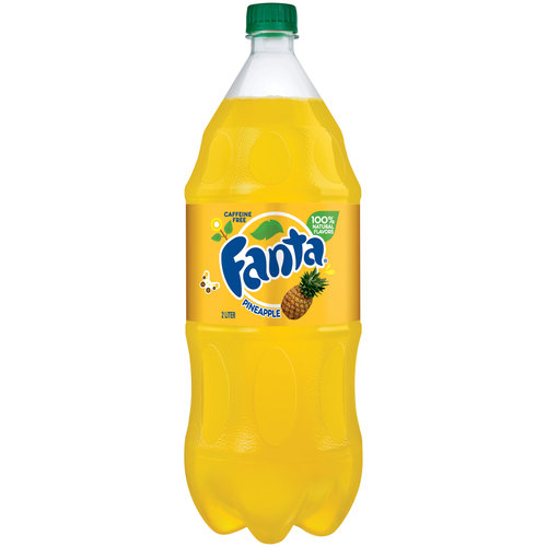 Fanta Pineapple Soda, 2 l